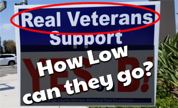 Trashing Irvine and Irvine Veterans… How Low Can You Go, FivePoint?