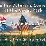 Irvine Veterans Sound Off on Measure B