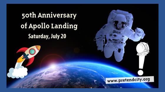 50th Anniversary of Apollo Landing.