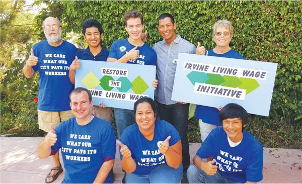 Living Wage Initiative Campaign Gains Momentum