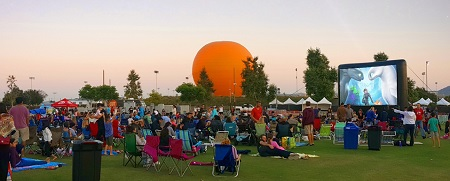 Movies on the Lawn at the Great Park