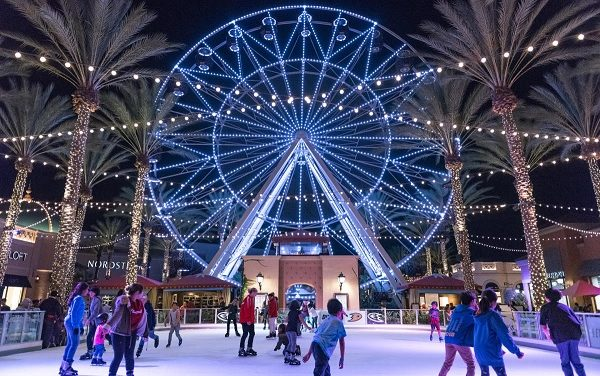 Holiday Ice Rink at the Spectrum Through January 6th