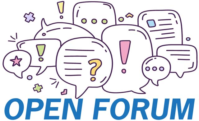 Image result for Open Forum images