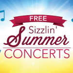July & August:  Summer Concerts in the Park
