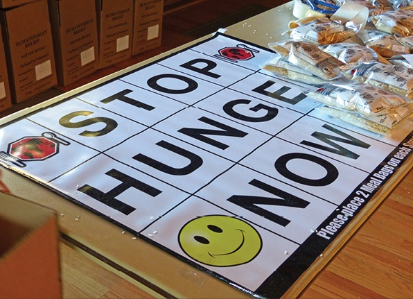 CultureCorner: Stop Hunger Now