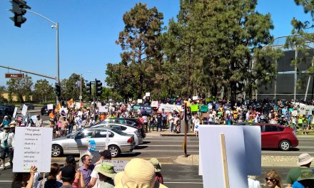 Thousands Gather in Irvine for Climate Action March